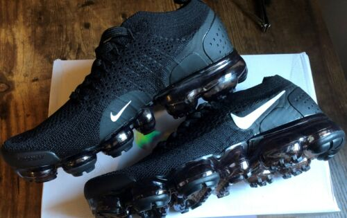 NIKE Air Vapormax Flyknit 2018 Running Shoes - BLACK US Women Size with box