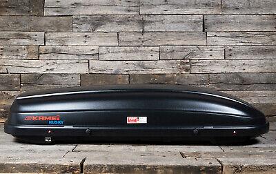 Kamei Dachbox Husky XXL mit 510 Litern Schwarz Transportbox Skibox Dachkoffer