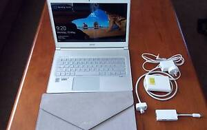 ACER Aspire S7-392 Ultrabook Laptop 8GB i5 Touchscreen Light Thin Minto Campbelltown Area Preview