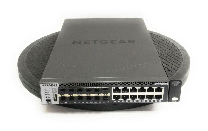 Netgear ProSAFE M4300-12X12F 24-Port 10-Gigabit L3 Switch 12x 10GBASE-T 12x SFP