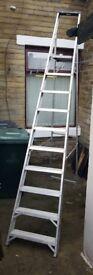 Tall LADDER for sale. 10ft - 10 steps