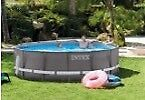Intex 14 foot by 42 inch above ground pool