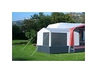 NR Awning Annexe with interior hanging bedroom