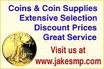 AAA Jake's Discounted Coin Supplies