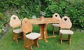 Elm Cottage table and chairs