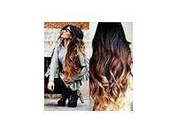 7A Super Wavy Full Lace Human Hair Wigs for Black Women Brazilian hair Three Tone #1b/4/27