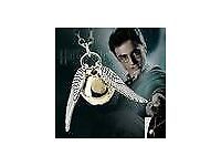 Vintage harry potter Gothic Angle Wing with Cool Pendant Necklace