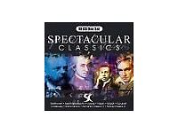 Box of Spectacular classic CDs Packed in 4 sets of 10 cds -
