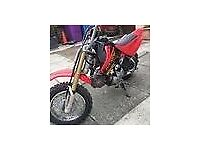 HONDA CRF 50cc PW50 AND A 50cc QUAD