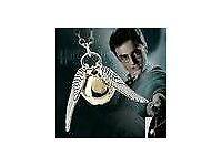 Vintage harry potter Gothic Angel Wing Pendant Necklace