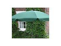 Green 2.7m Garden Parasol