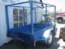 trailers 6x4 foot with cage 3 types for hire inGranville from $35 Granville Parramatta Area Preview