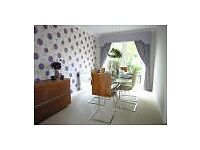 High quality designer curtains, carpet and lighting from 4 bed detached house