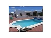 lanzarote holiday villa 15 mins from centre of playa blanca beaches aqua park bus terminal