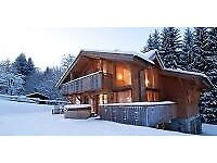 Live in Au Pair for British Family living in Les Houches, Chamonix (accom provided for couple)