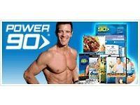 Power 90 fitness dvd boxsets with training guides