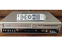 Bush DVRHS02 DVD Recorder. Video Cassette Recorder Combi. Transfers tape to DVD