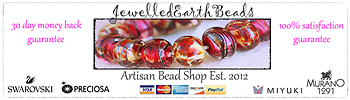 Jewelled Earth Beads and Gems