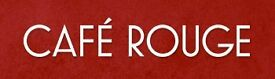 General Manager Wanted! For Cafe Rouge, Sherwood Center Parcs