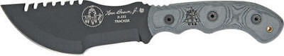 Tops Tpt010t2 Fixed Knife Tracker 2 Carbon Steel Micarta Handle Tom Brown