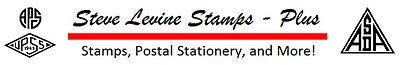 STEVE LEVINE STAMPS PLUS