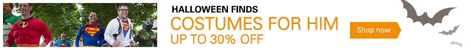 Costumes For Him Up to 30% Off