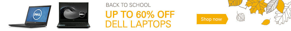 Up to 60% Off Dell Laptops