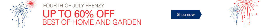 Up to 60% Off Home and Garden