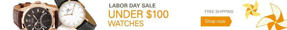 Labor Day Sale: Watches Under $100