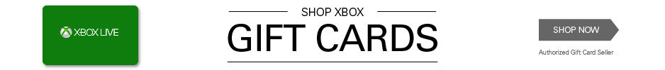 Gift Cards - XBOX