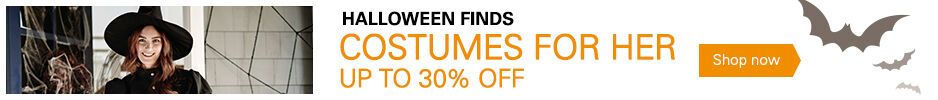 Costumes For Her Up to 30% Off