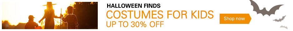 Costumes For Kids Up to 30% Off