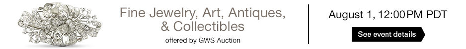 GWS Auction - Fine Jewelry, Art, Antiques & Collectibles