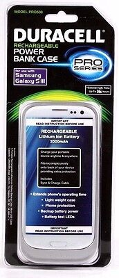 NEW Samsung Galaxy S III Power Bank proves by Duracell White 2000mAh