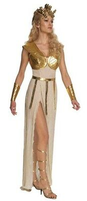 ATHENA COSTUME Medium Roman Egyptian Greek Clash of Titans Halloween Cosplay - Athena Halloween Costumes