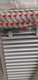 kUDOX Single Panel White Radiator