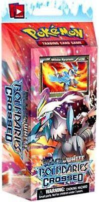 Pokemon BW BOUNDARIES CROSSED WHITE KYUREM 102//149 RARE HOLO THEME DECK EXCL