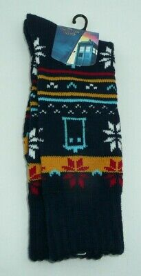Doctor Who Ugly Sweater (Doctor Who Thick Warm Socks Tardis Winter Ugly Christmas Sweater Style)