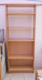 Book Case Free or a fee for delivery