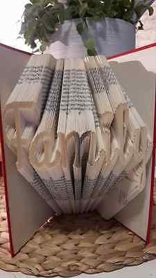 Family MMF Book Folding Pattern (PATTERN PATTERN ONLY) in Jane's Alpha