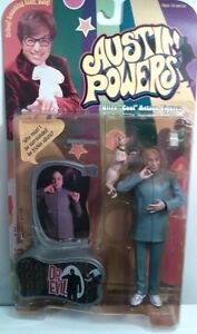 Dr Evil 1999 Austin Powers vintage ultra cool action figure McFarlane Toys movie