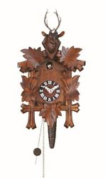 German Cuckoo Clock 1day movement 5leaves deer Quarter Call Cuckoo Clock 10 inch