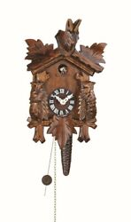 Quarter call cuckoo clock with 1-day movement Three leaves TU 621 nu NEW