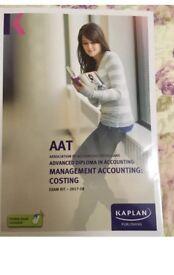 AAT level 3 MMAC Exam Kit 2018 Kaplan