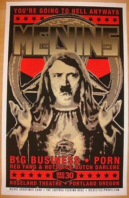 2006 The Melvins - Portland Silkscreen Concert Poster by Richie Goodtimes
