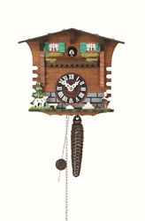 Quarter call cuckoo clock with 1-day movement Swiss House TU 623 NEW