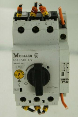 EATON CUTLER HAMMER MOELLER PKZM0-1 MANUAL MOTOR CONTROLLER