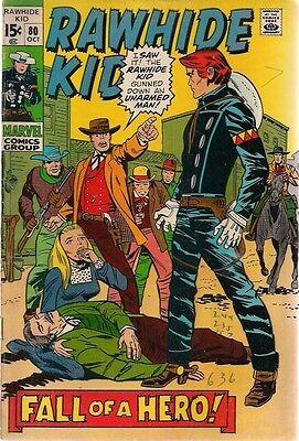 RAWHIDE KID #80 (1970) Marvel Comics western VG+