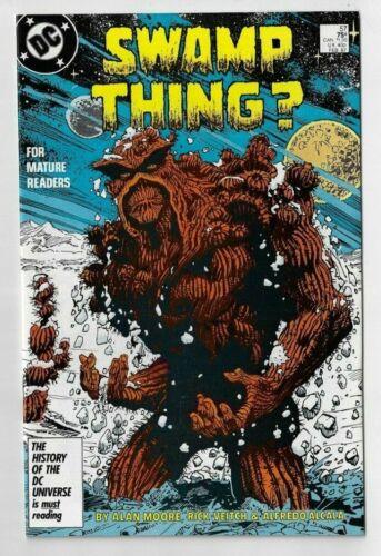 Swamp Thing 57 NM Alan Moore 1986 DC Comics Veitch Alcala art