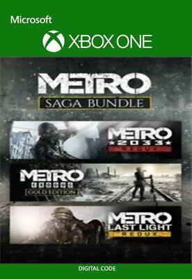 Metro Saga Bundle (Xbox One, X|S) - Digital code Region free